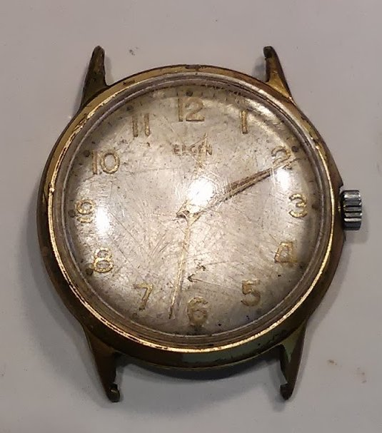 An Elgin case that is beyond repair. The movement inside might still work.