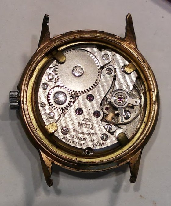 Although the case is no longer useful, the movement may still work after getting a bit of attention.