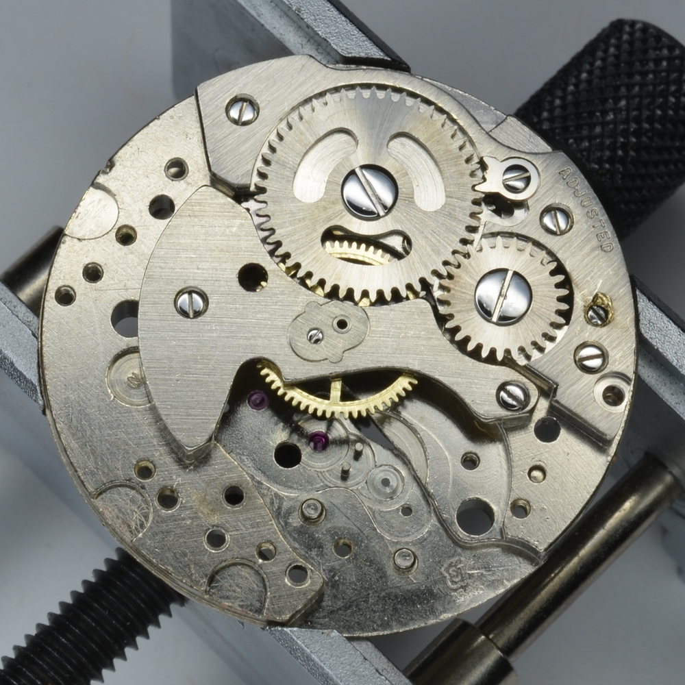 The caliber mark shown here is ST 1686. This movement was also sold under the AS name as the AS 1686.