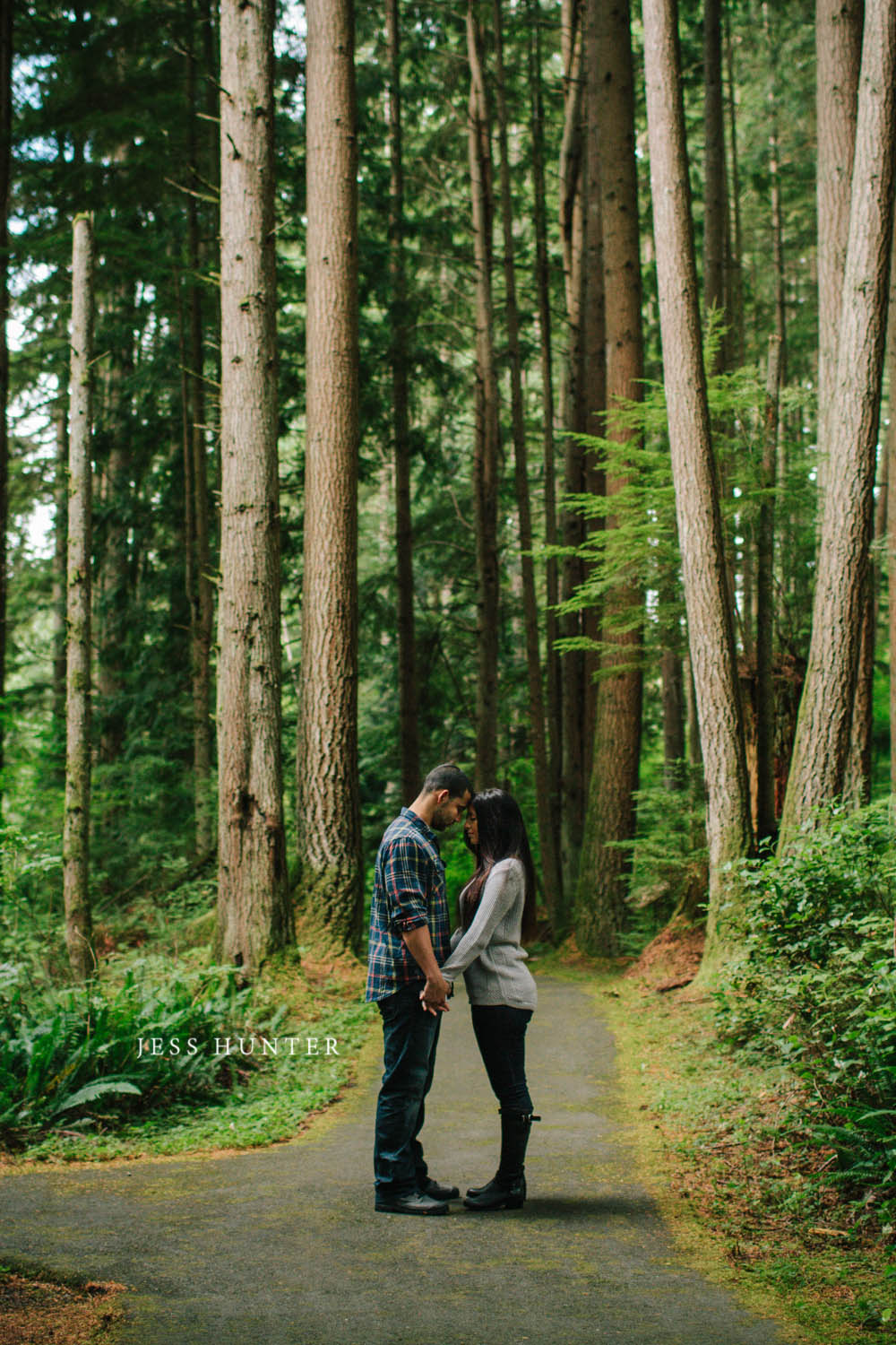Jaqui Curtis Anniversary Session In The Forest
