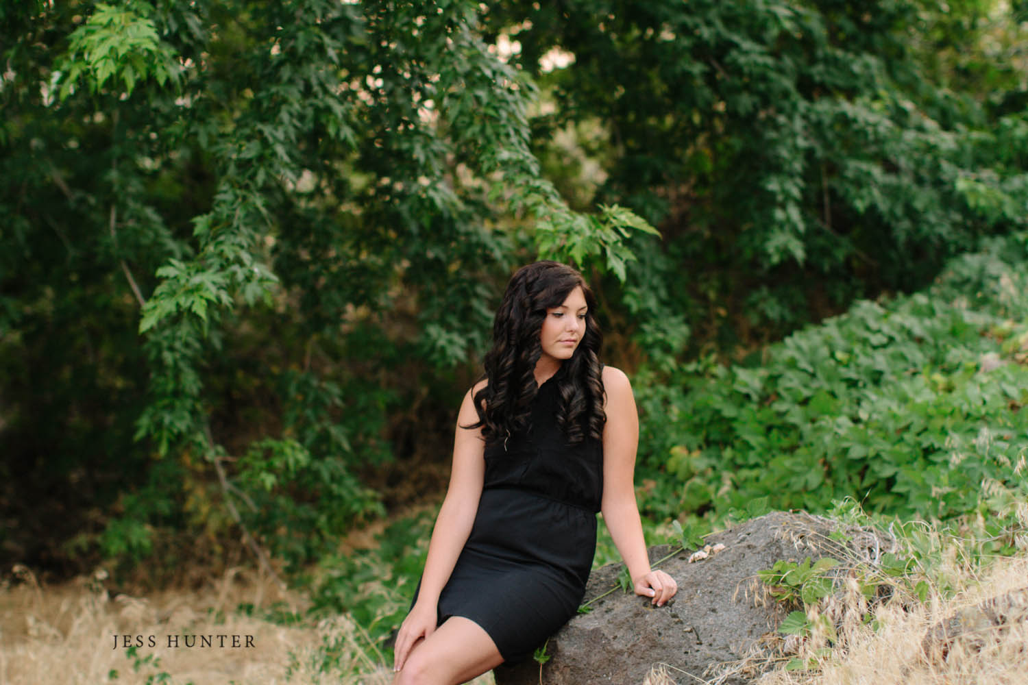 Yakima Senior Portraits / Jess Hunter Photography / West Valley High School 2014 Senior / Seattle Wedding Photographer