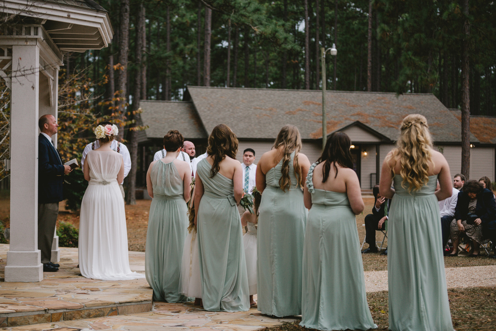 Southern wedding at Quail's Landing in Ashburn, Georgia photographed by Jess Hunter // Savannah, GA wedding photographer // Jacknsonville, FL wedding photographer, South Georgia wedding photography, North Florida wedding photography, Southern wedding traditions, wedding in the woods, lakeside wedding ceremony, artistic wedding photographer, Jessica L. Hunter