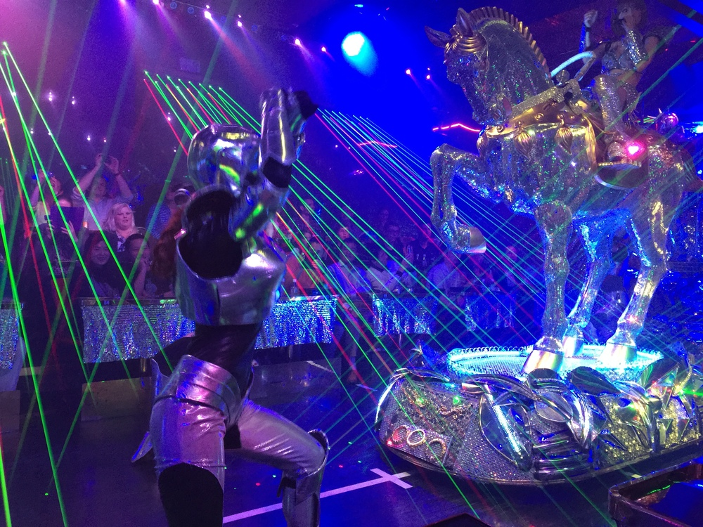 Robot Restaurant: Coolest Birthday Dinner! This place is a must visit if you are in Tokyo.