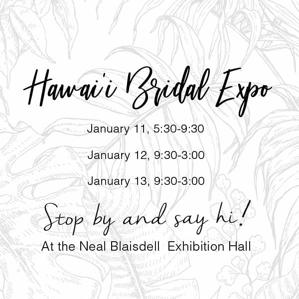 It's that time of year again! Come see us at the Bridal Expo this weekend ⚡⚡ We'll have both our Open Air and Classic booth set up for you to try! #flashlab #bridalexpo #hawaiibridalexpo #oahuweddings #tropicalweddings