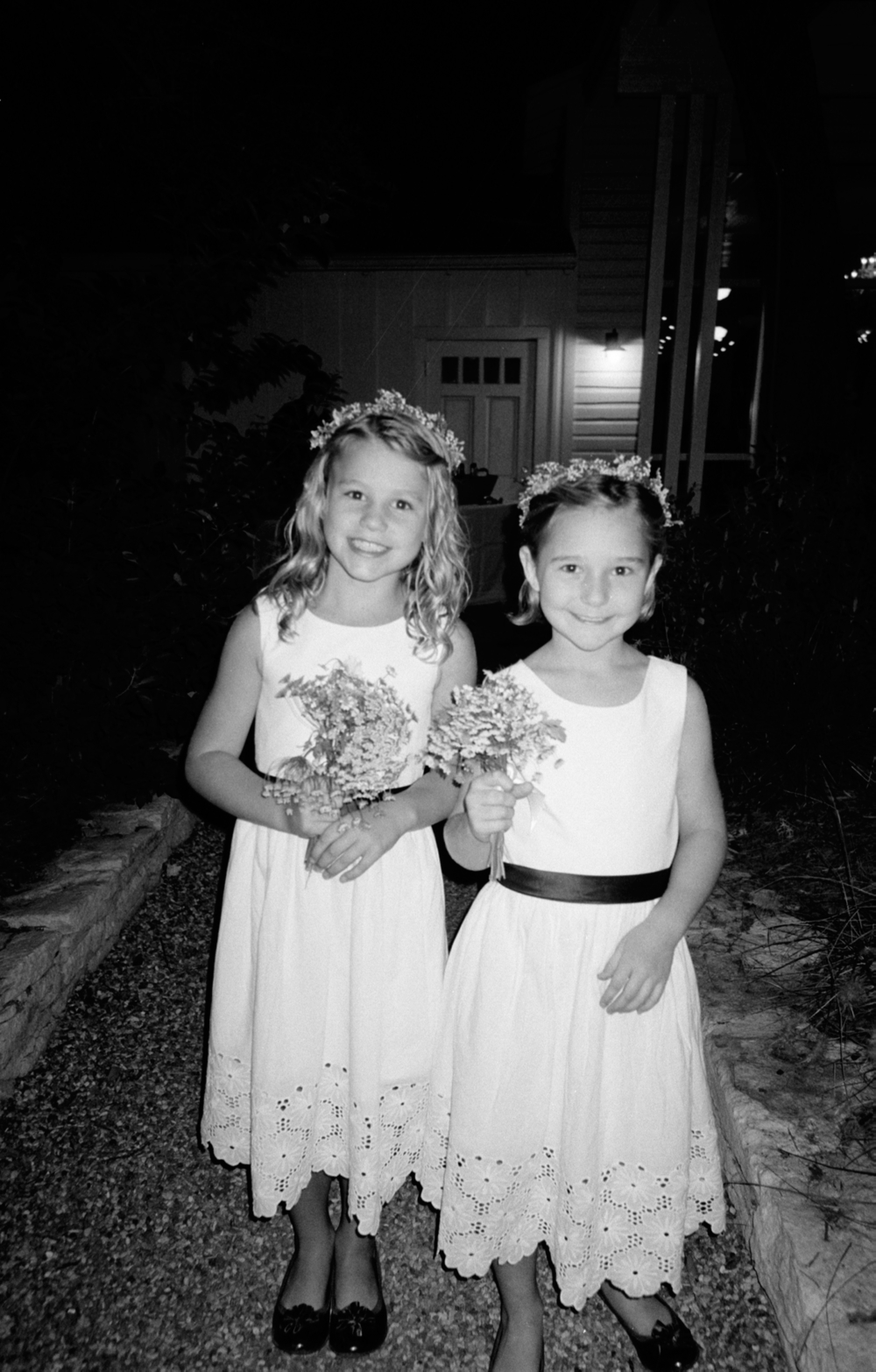 Flower girls. Austin, TX. 10.3.14                                                                                                                                                                                      Photo by Josh Makela