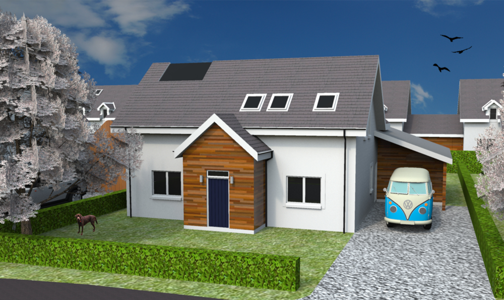 Front Elevation of Plot 20