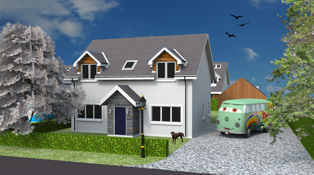 Front elevation of Plot 19