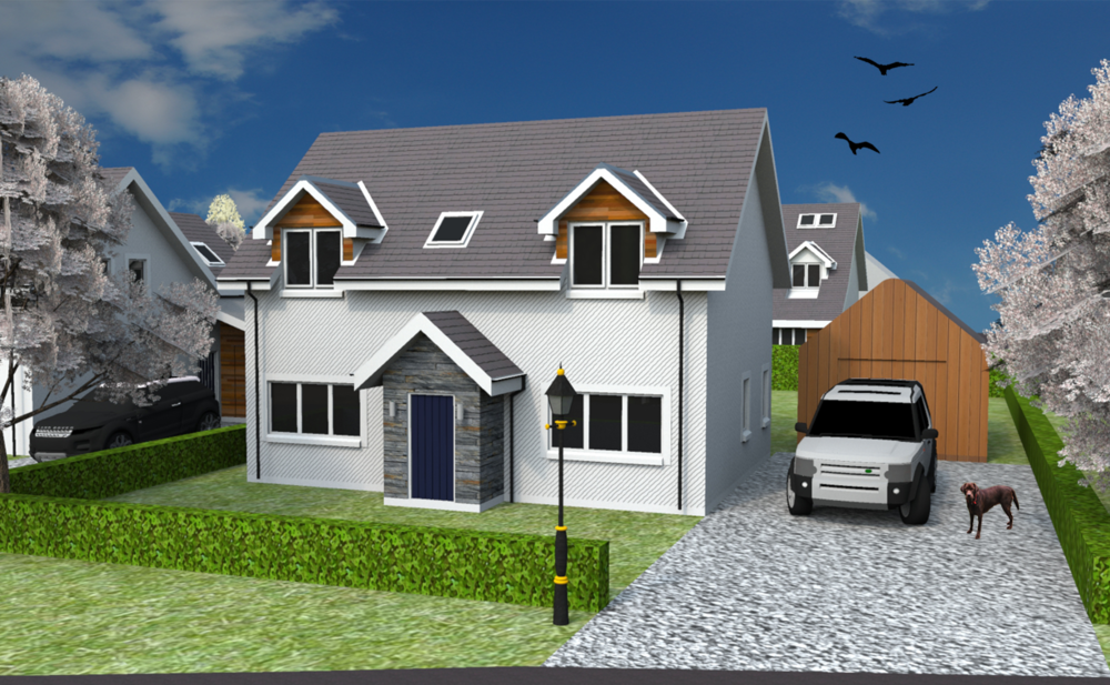 Front elevation of Plot 21