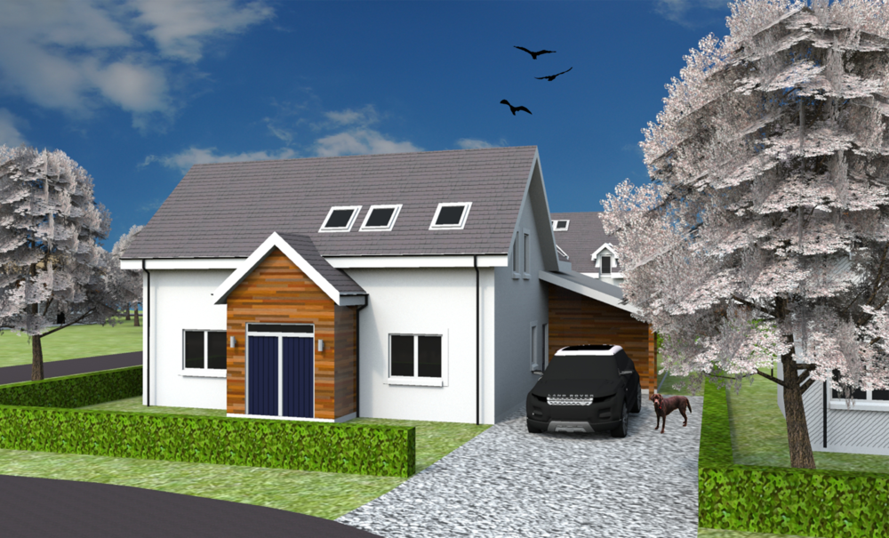 Front elevation of Plot 22
