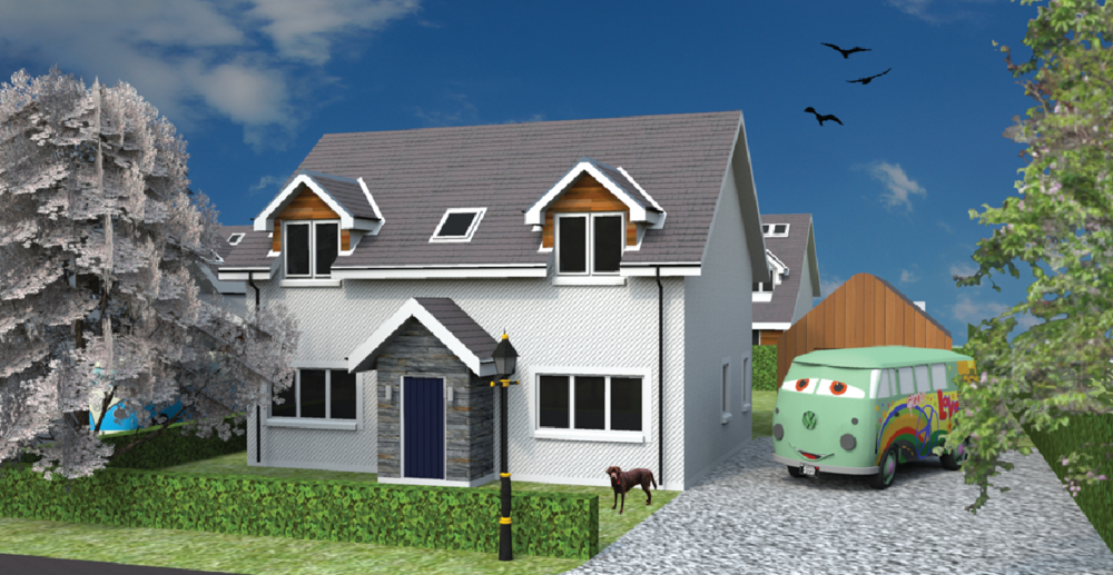 Boyd House Type Fixed Build Price   £225,000