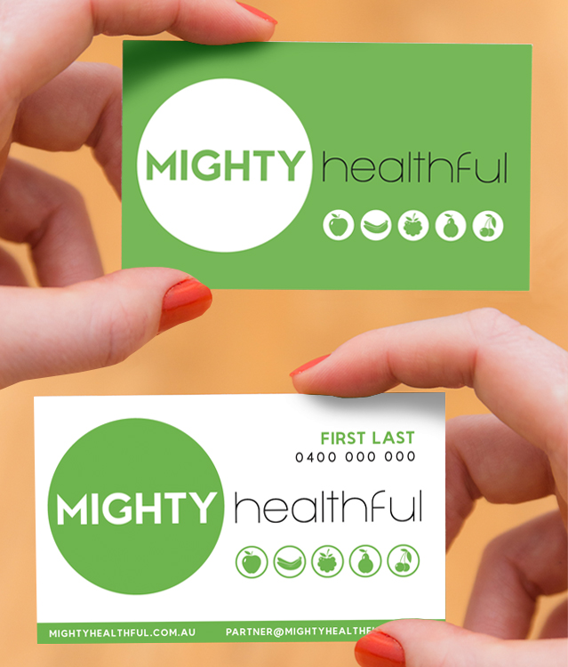 LOGO DESIGN & BUSINESS CARDS    UV Spot & Foil available