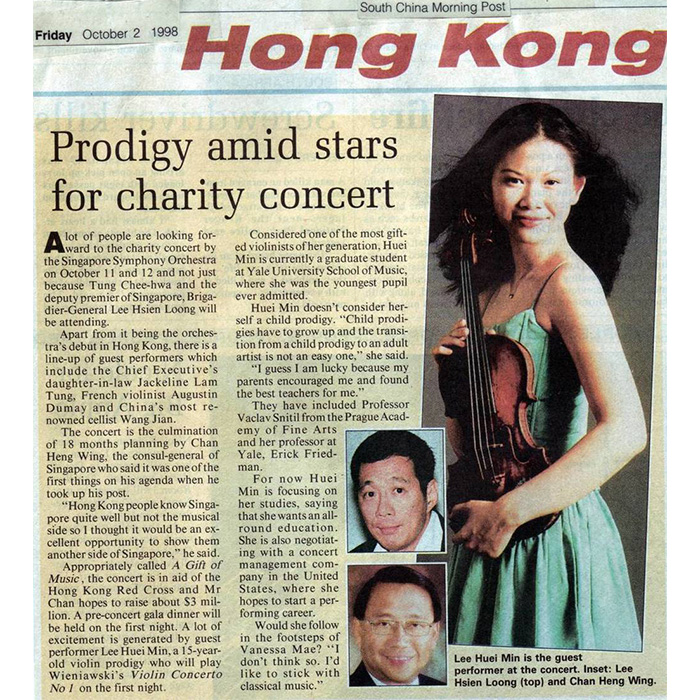 Singapore Symphony Orchestra Concert -