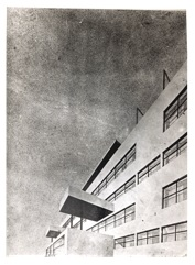 Design for a residential building complex, 1931-1933