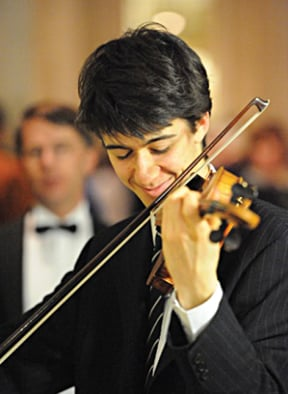 MUSIC: Emmanuel Bach: an evening of Russian violin and poetry at