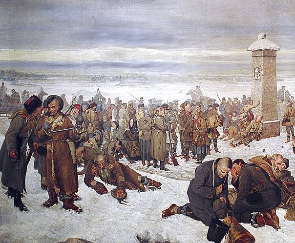 'Farewell Europe!' by Aleksander Sochaczewski, The Warsaw Museum.