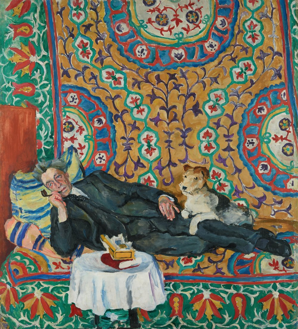 Petr Konchalovsky, Portrait of V.E. Meyerhold, 1938. Oil on canvas, State Tretyakov Gallery, Moscow. © Petr Konchalovsky Foundation.
