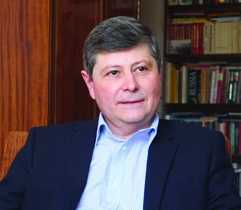 Oleg Khlevniuk, author of Stalin: New Biography of a Dictator (Yale)