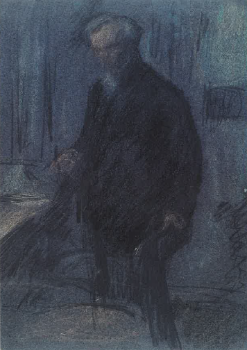 Leonid Pasternak, self-portrait.