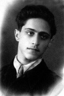 Lev Ozerov as a Young Man