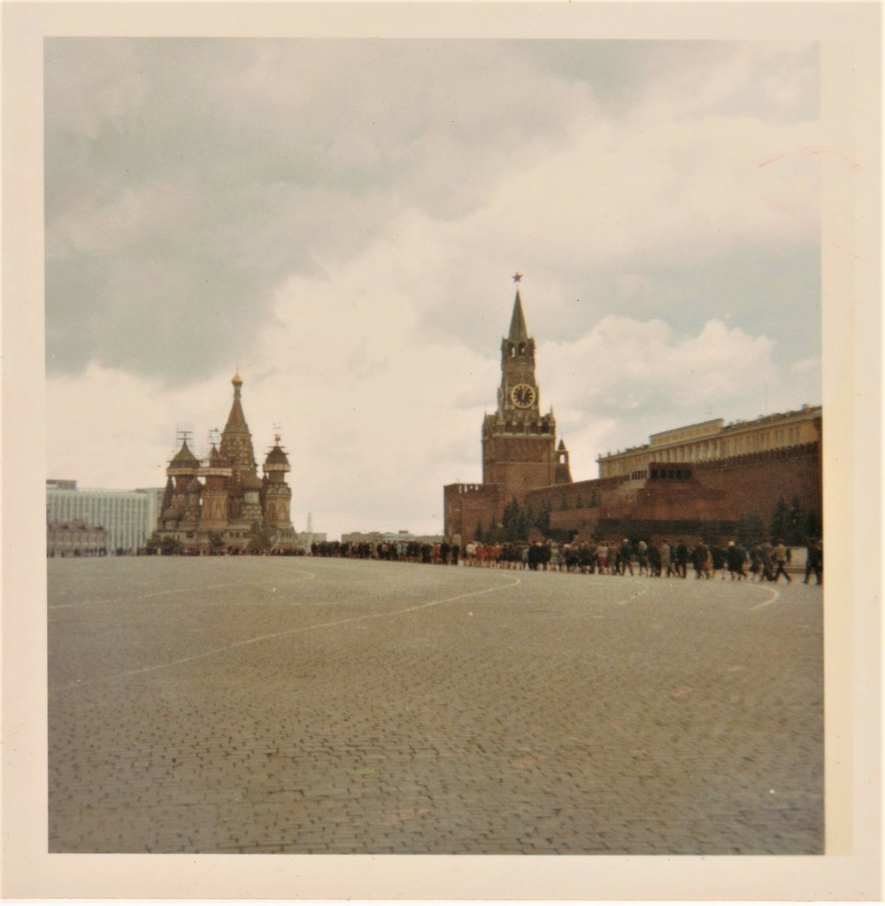 Red Square, Moscow, 1968. All photos courtesy of the author