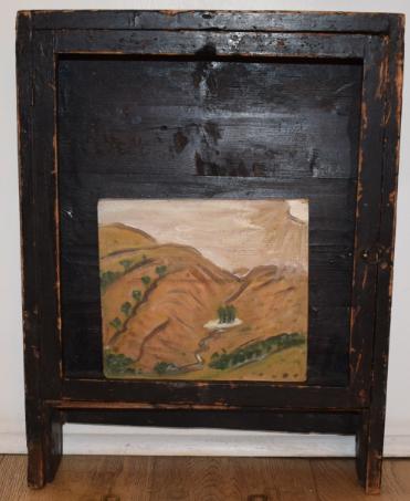 49. A Big Landscape, 1993, oil on wood - £1,500