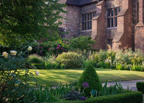 The Charterhouse gardens. Photo: Claire Davies
