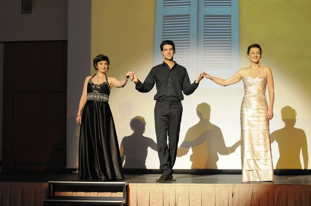 avec Sophie Sara et Vianney Guyonnet