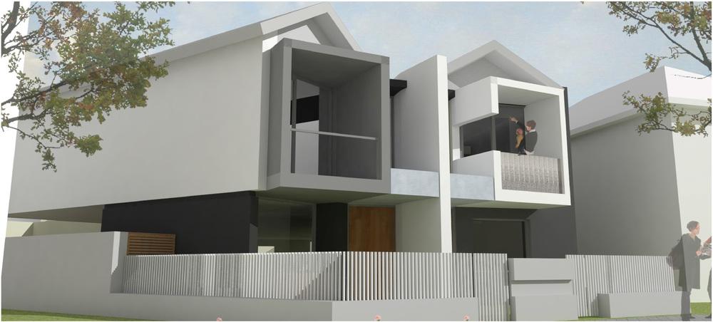Urban Townhouse Development