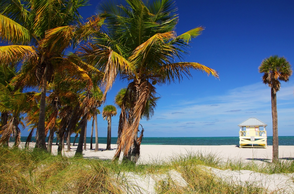 Crandon Beach, courtesy of Greater Miami Convention & Visitors Bureau