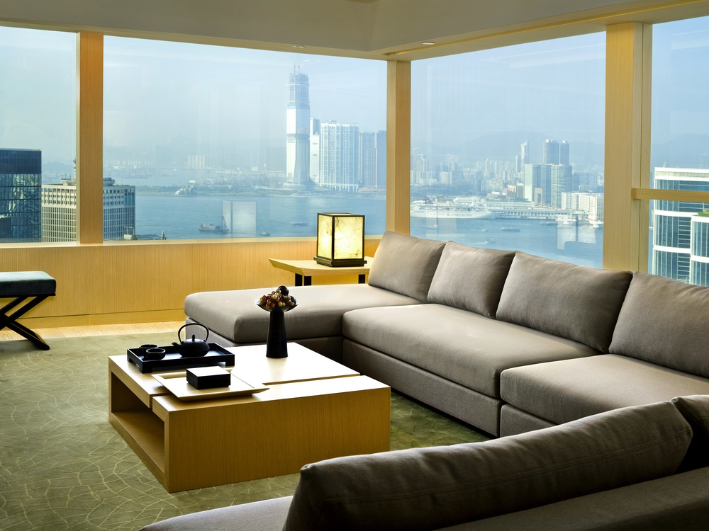 Upper Suite Living Room