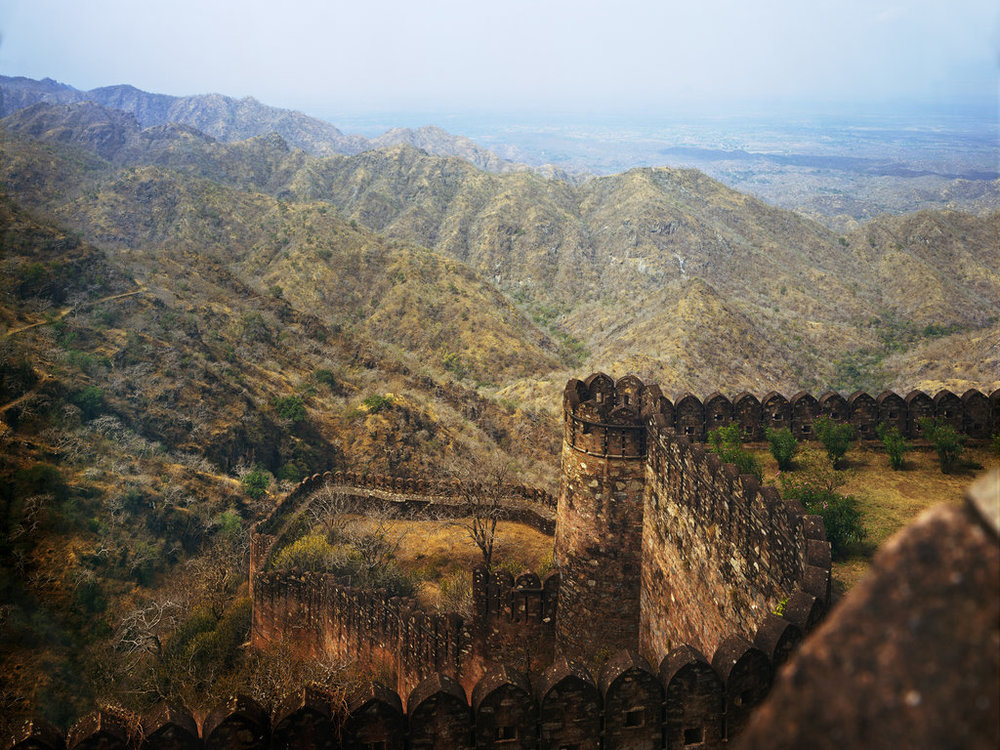 Kumbhalgarh Fort, which dates to the 15th Century, stands in the Aravalli Mountains, east of Jawai. Richard Mosse via The New York Times