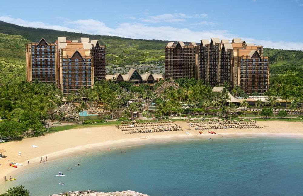 USA-Hawaii-Oahu-Aulani A Disney Resort-Beach View.jpg