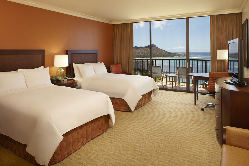 USA-Hawaii-Oahu-Hilton Hawaiian Village-Rainbow Tower Ocean Front 2 Double Beds.jpg