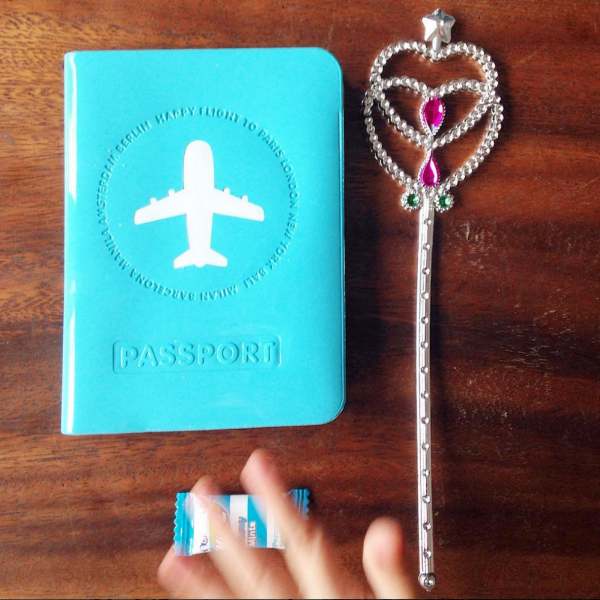 "We love Kimberly's three-year-old daughter's ""travel essentials!"" Share your travels with us using #getpassported."