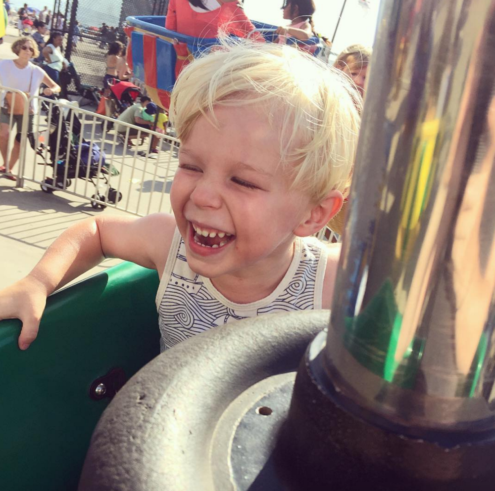 We love this photo of Joanna from Cup of Jo's little one enjoying Coney Island. We're all for enjoying the end of summer! Don't forget to share your travels with us using the hashtag #getpassported and follow us on instagram!