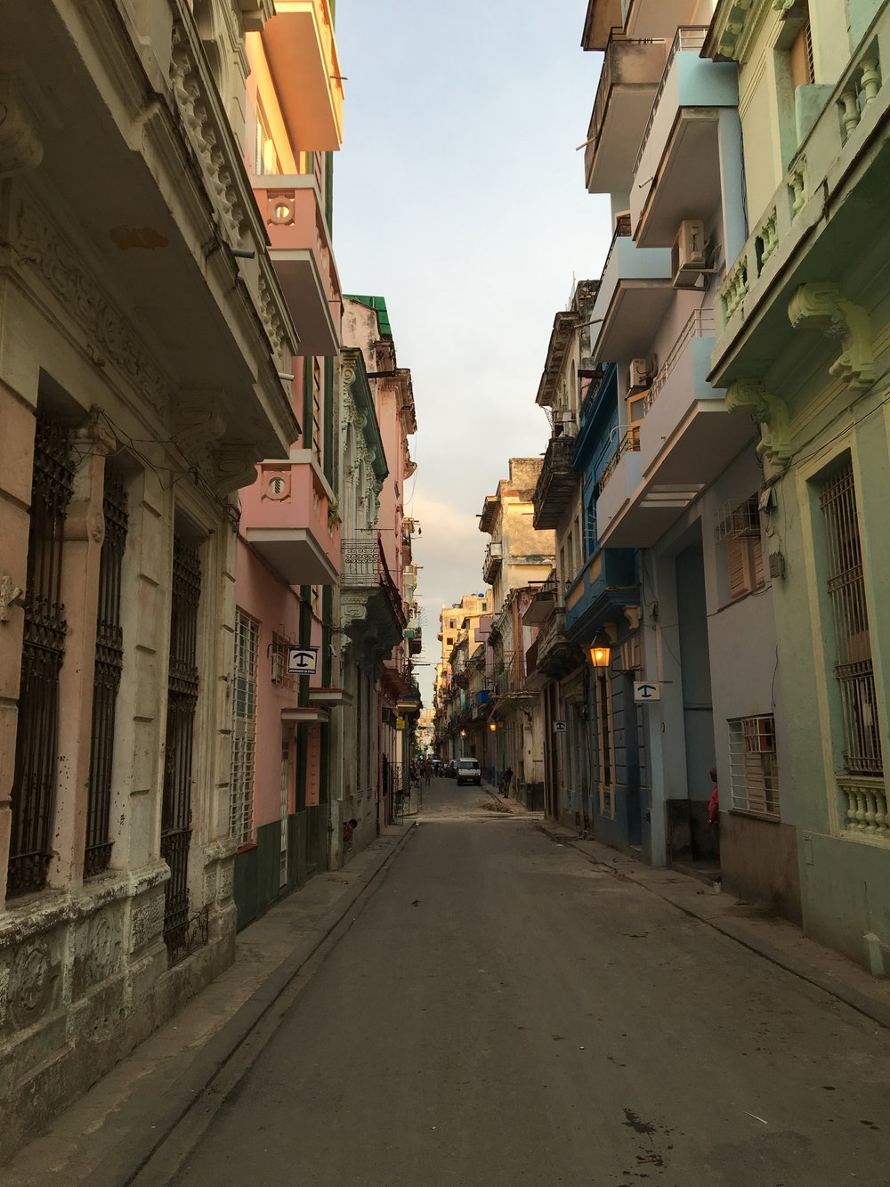 Evening light in Havana