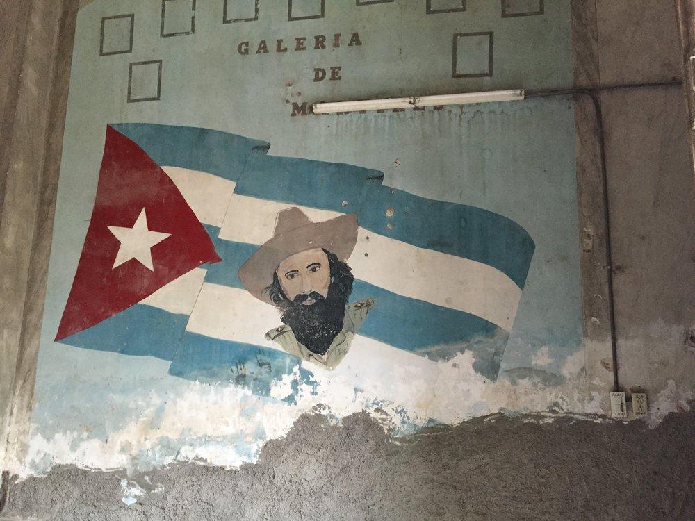 Walls of La Guarida