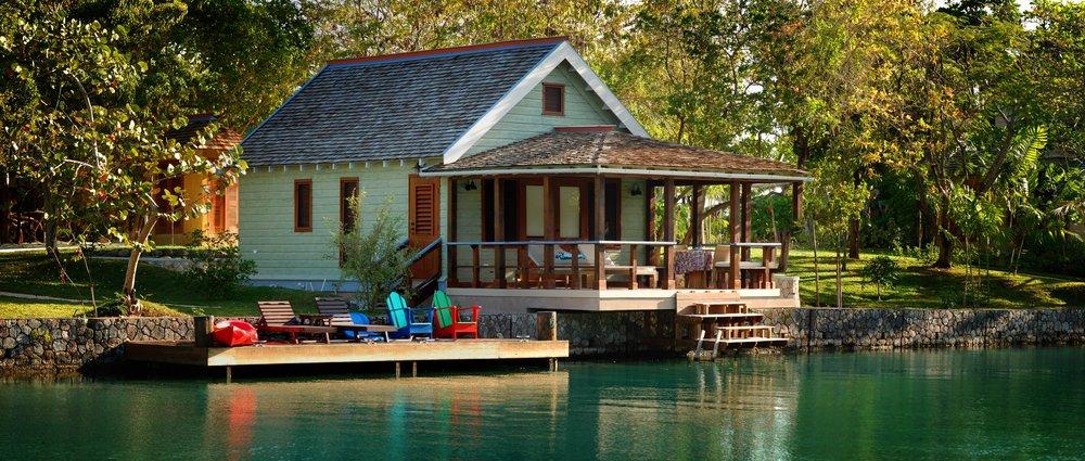 Goldeneye, Lagoon Cottage exterior.JPG