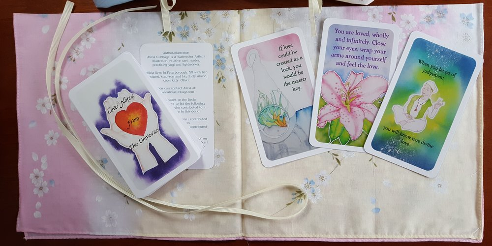 Love Notes From the Universe  - New Card Deck by Alicia Cubbage / Shakti Daya Kaur