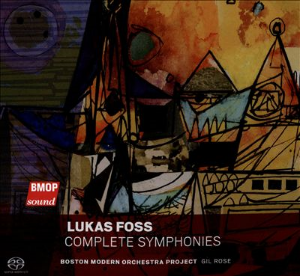 Lukas Foss: Complete Symphonies Boston Modern Orchestra Project BMOP Sound 2015