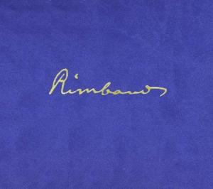 John Zorn:  Rimbaud  Talea Ensemble Tzadik 2012