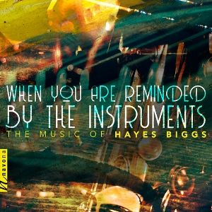 When You Are Reminded by the Instruments  Music of Hayes Biggs Navona Records, 2018