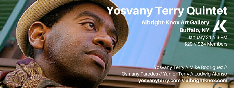Yosvany Terry Quintet Albright-Knox Art Gallery