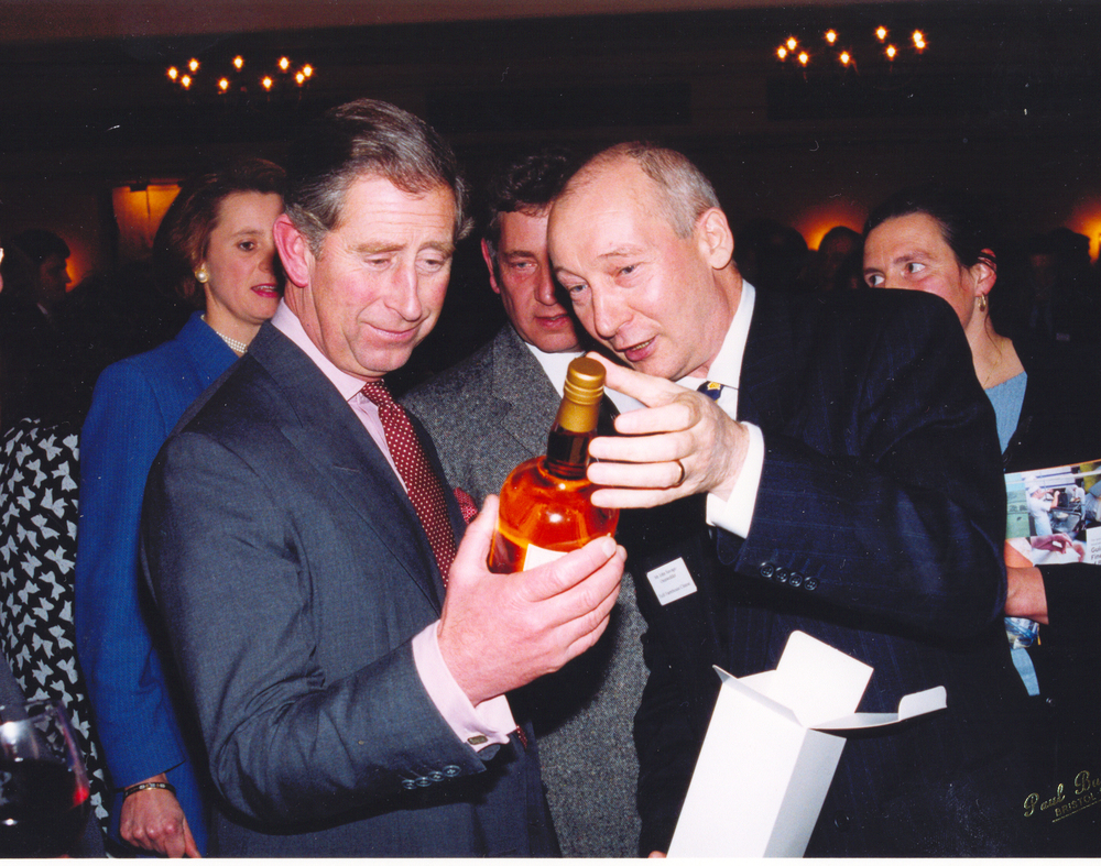 Bottle number 1000 was gifted to HRH Prince Charles
