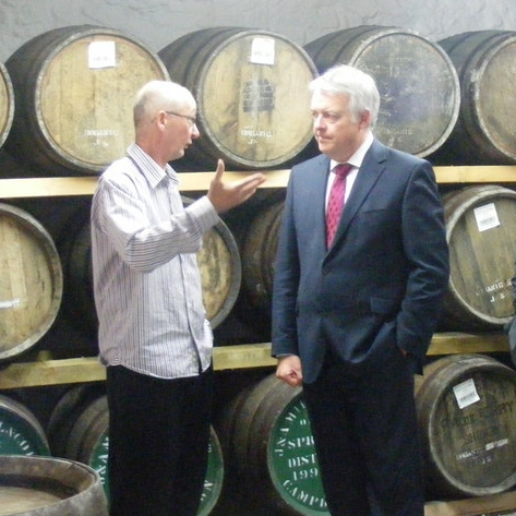 First Minister of Wales, Carwyn Jones opened the distillery