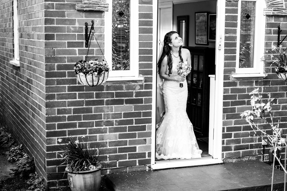 Bride About To Leave