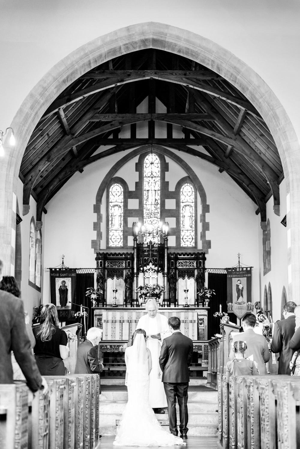 St Luke's Church Wedding Service