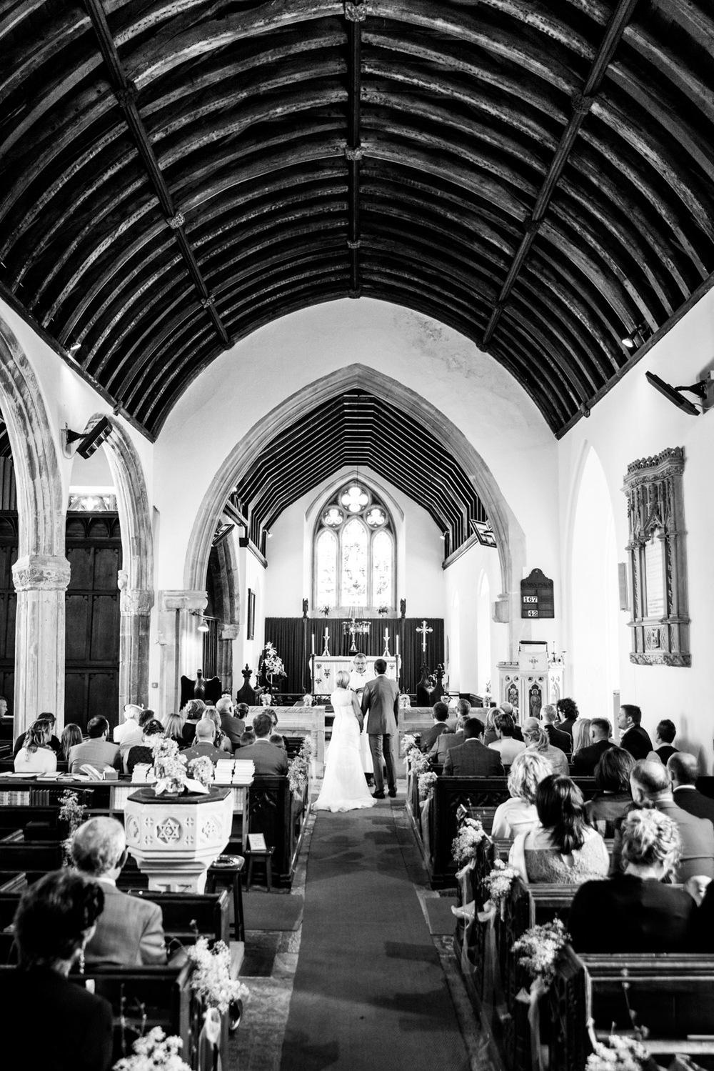 Tedburn St Mary Paris Church Wedding Ceremony
