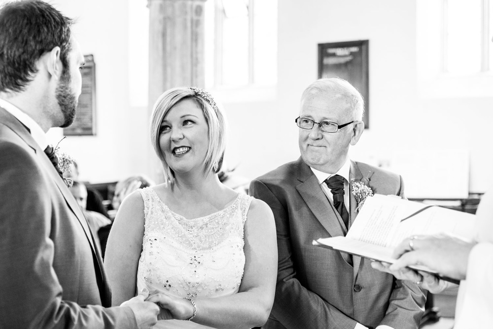 Proud Dad at the Wedding