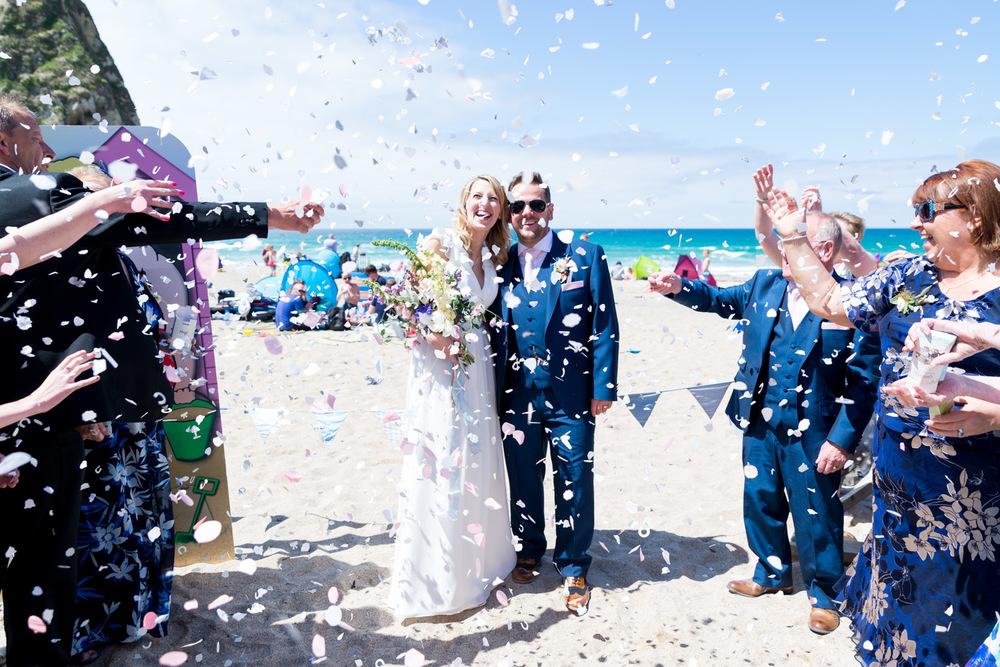 Lusty Glaze Beach Confetti